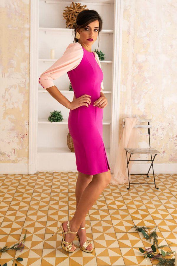vestido-eloanne-frambuesa