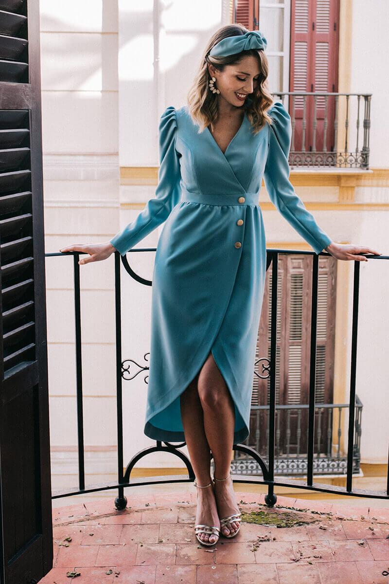 vestido abby mint