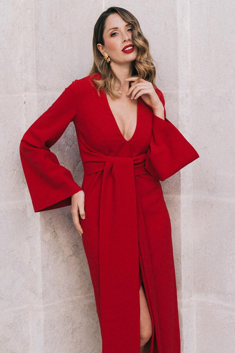 vestido alexa amapola