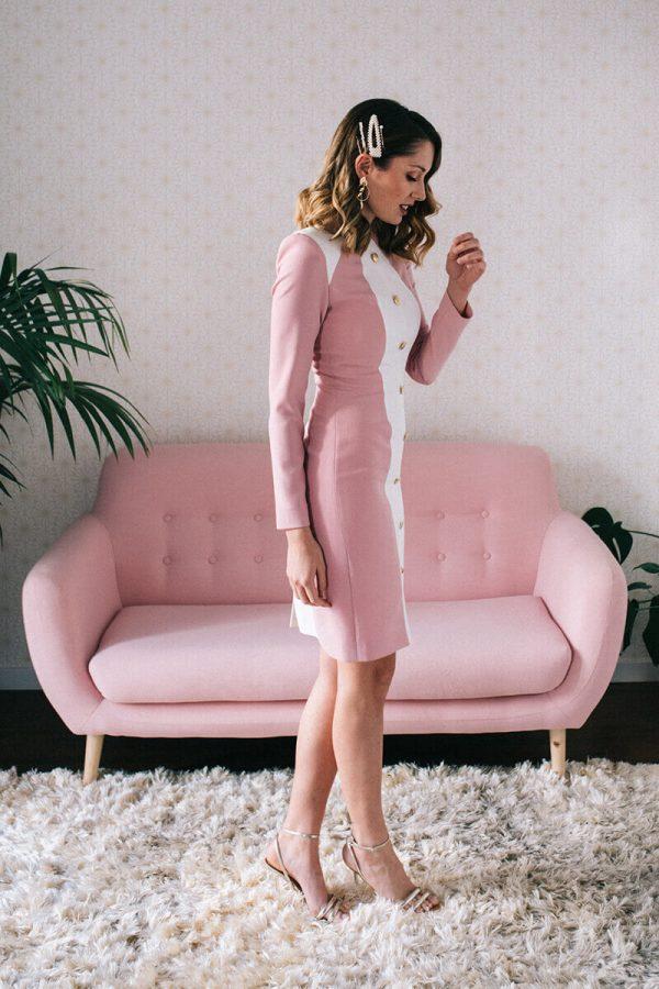 vestido grace rose