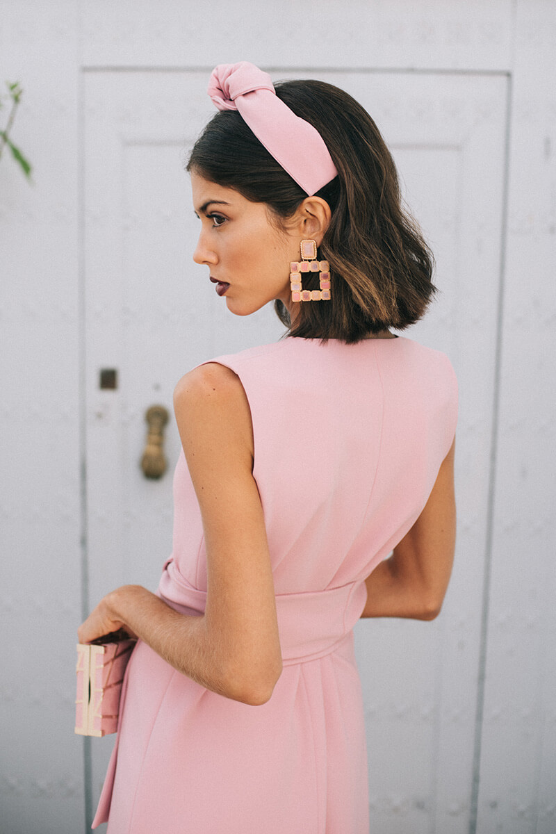 vestido bernarda rose