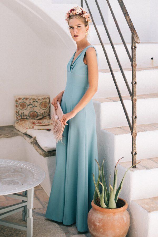 vestido carmen mint