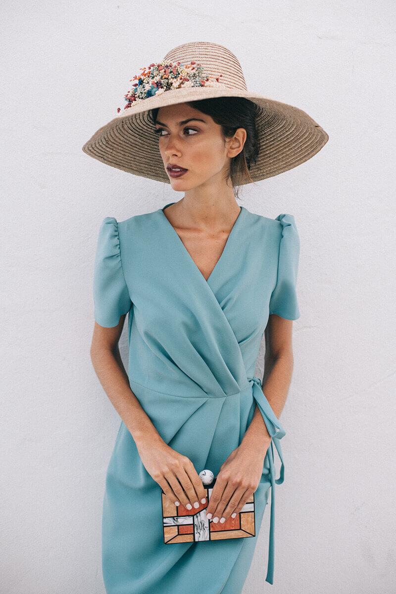vestido eloisa mint