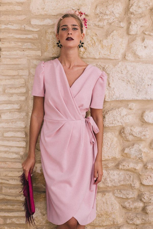 vestido eloisa rose