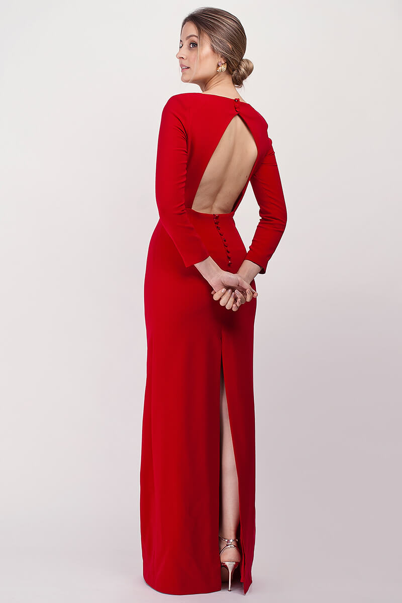 vestido elvira amapola