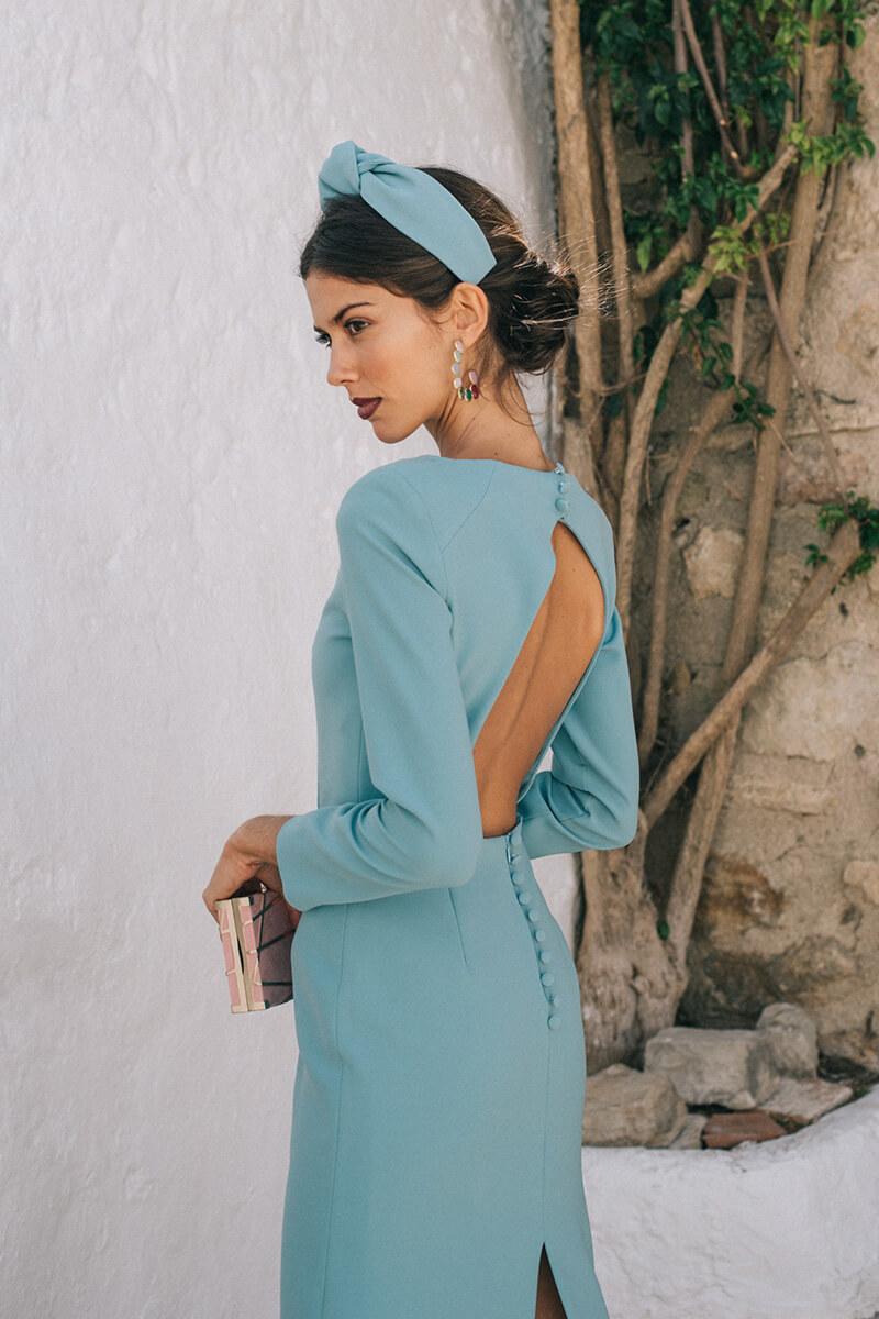 vestido elvira mint