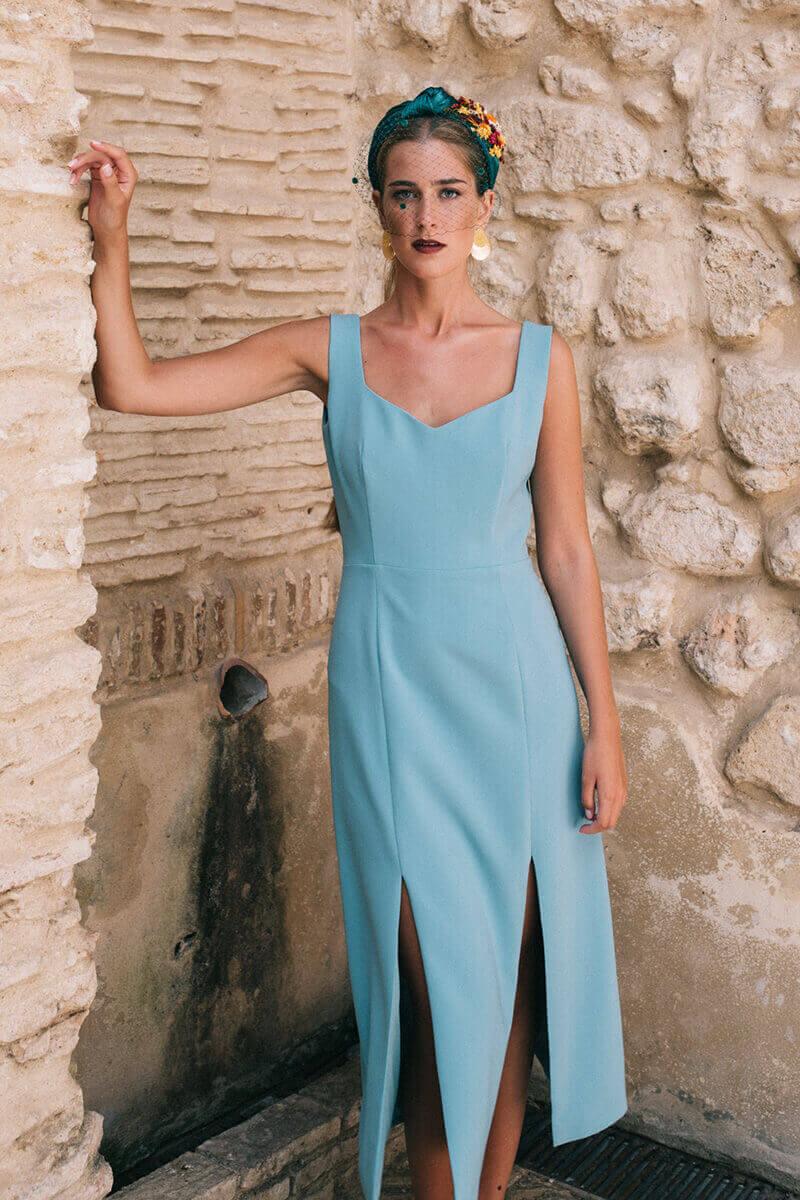 vestido fabiana mint