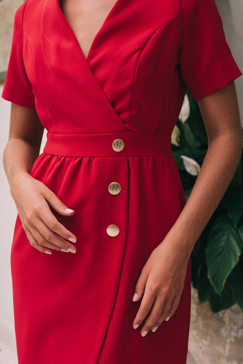 vestido olivia amapola