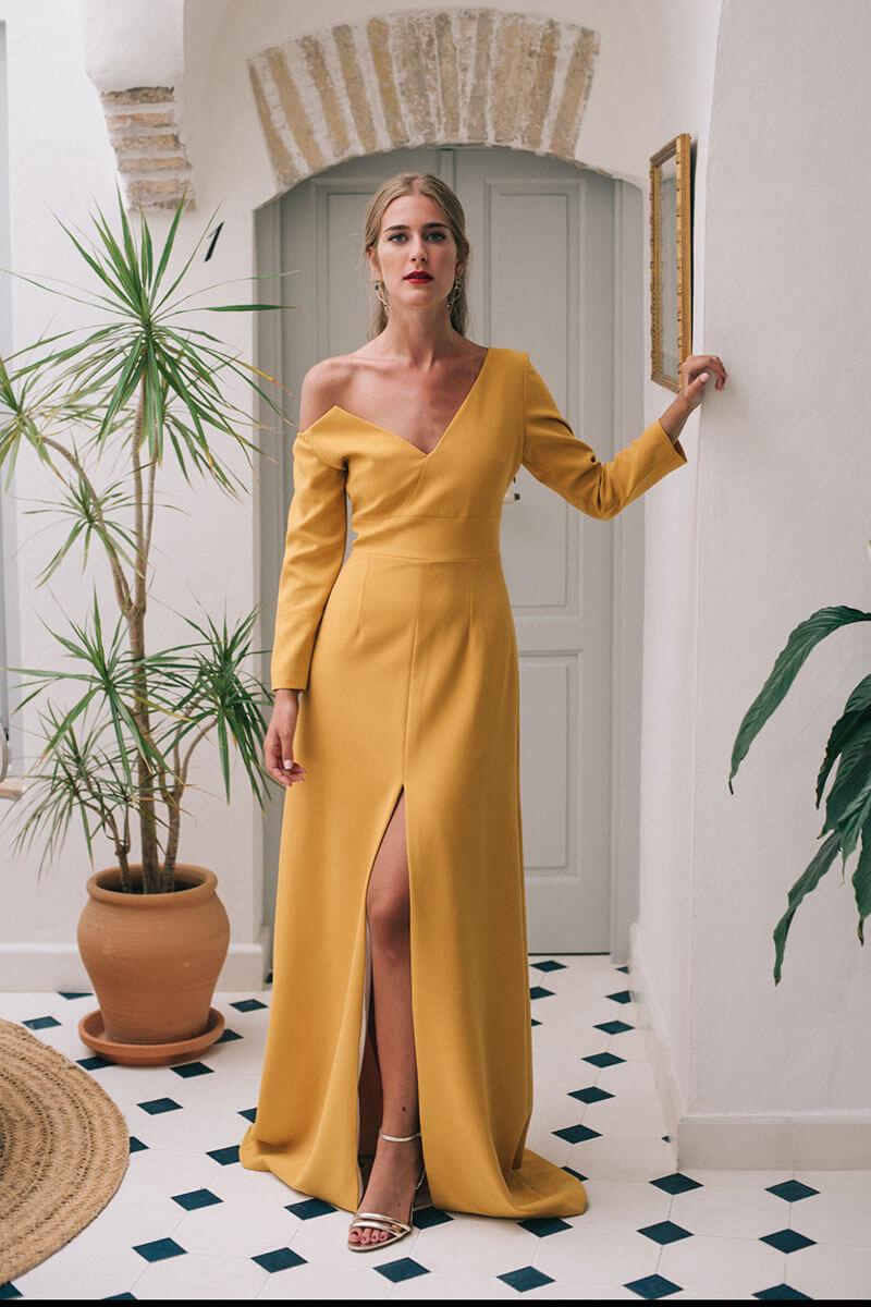 elegir el color ideal de tu vestido de invitada