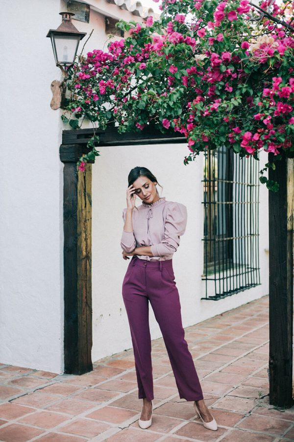 Blusa Select Rose