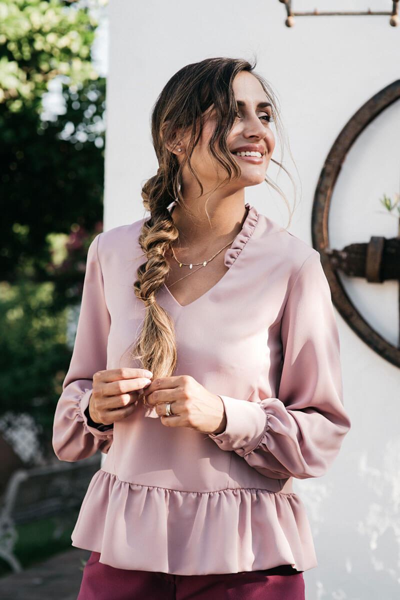 Blusa Feminity Rose
