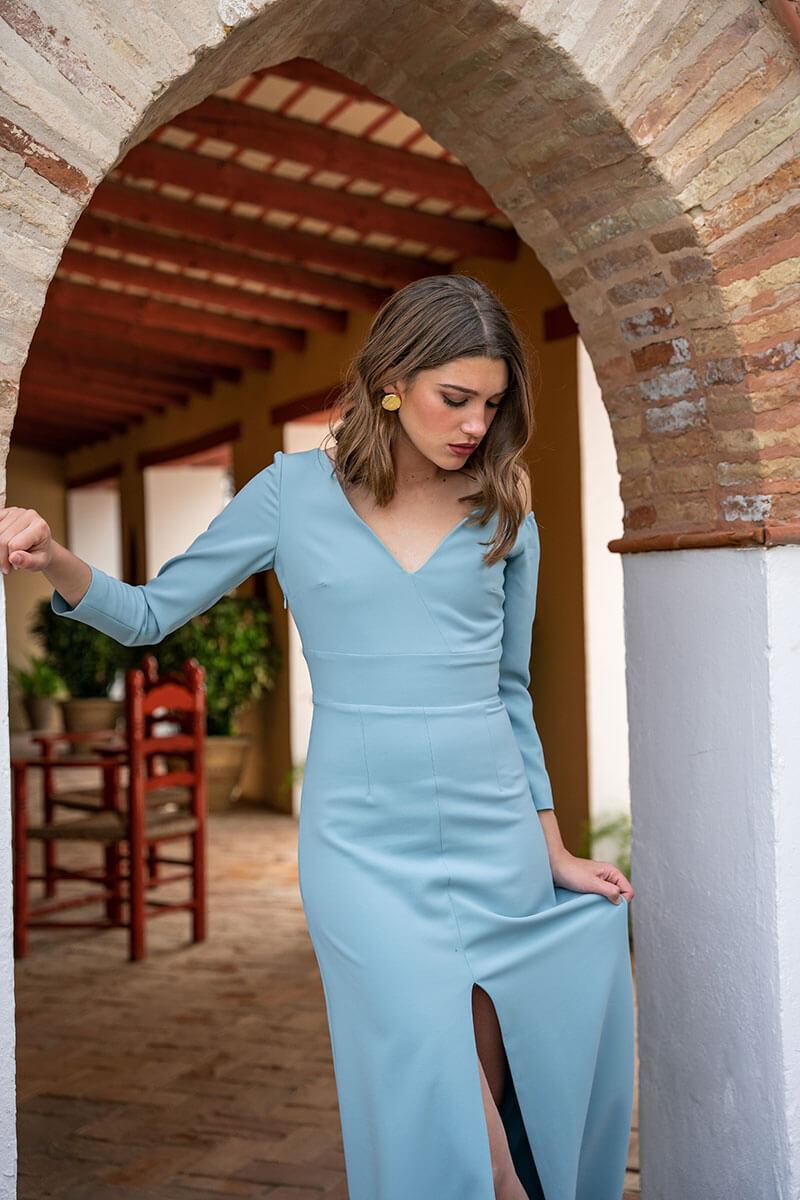 vestido marcela mint