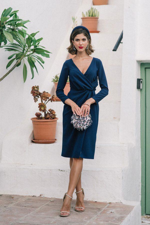 vestido greta marino